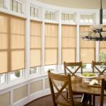 cortinas roller screen naturales comedor