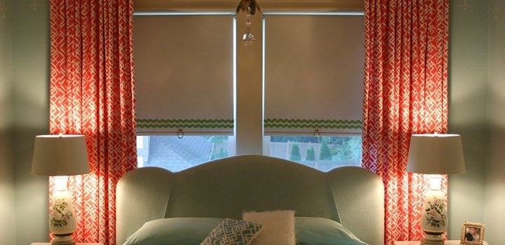 Cortinas roller y cortinas de riel : la combinación perfecta