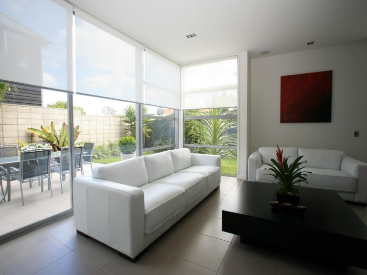 cortinas roller screen casa moderna