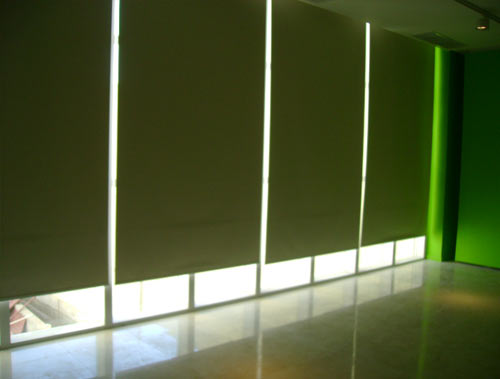 cortinas black out verde