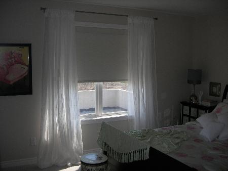cortinas dobles habitación