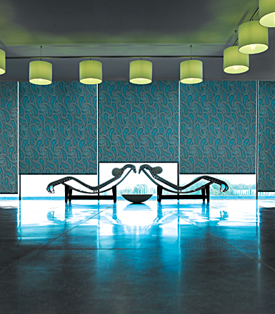 cortinas roller bout chesse lounge