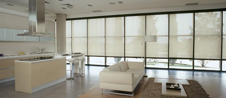 cortinas roller minimalistas