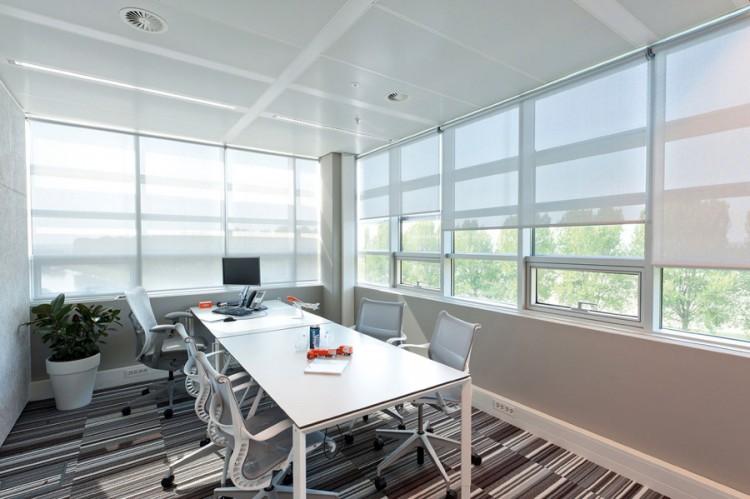 cortinas roller oficina
